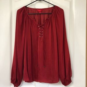 NWOT Jennifer Lopez dressy blouse Medium
